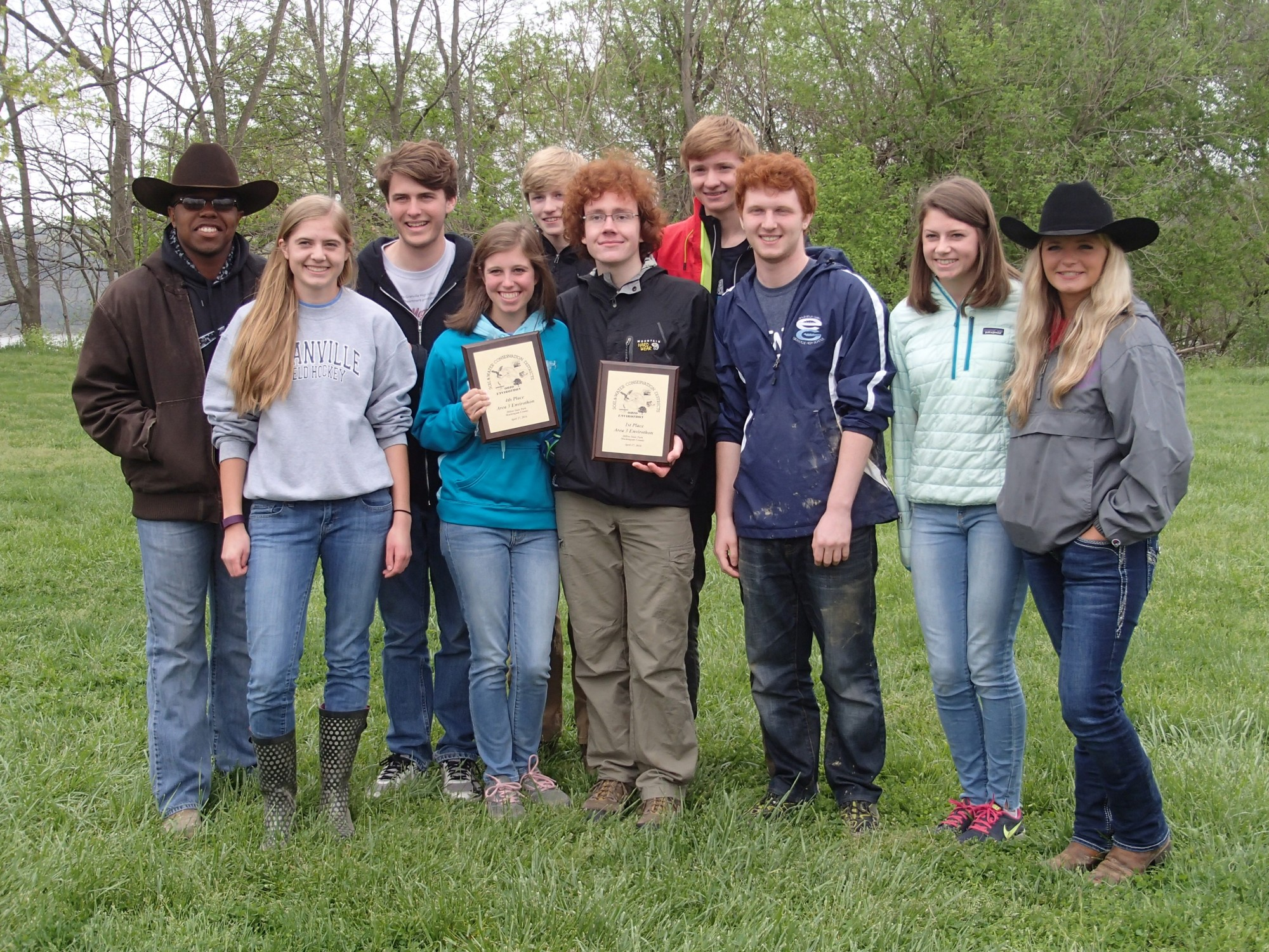 Granville Teams Advance to State Envirothon