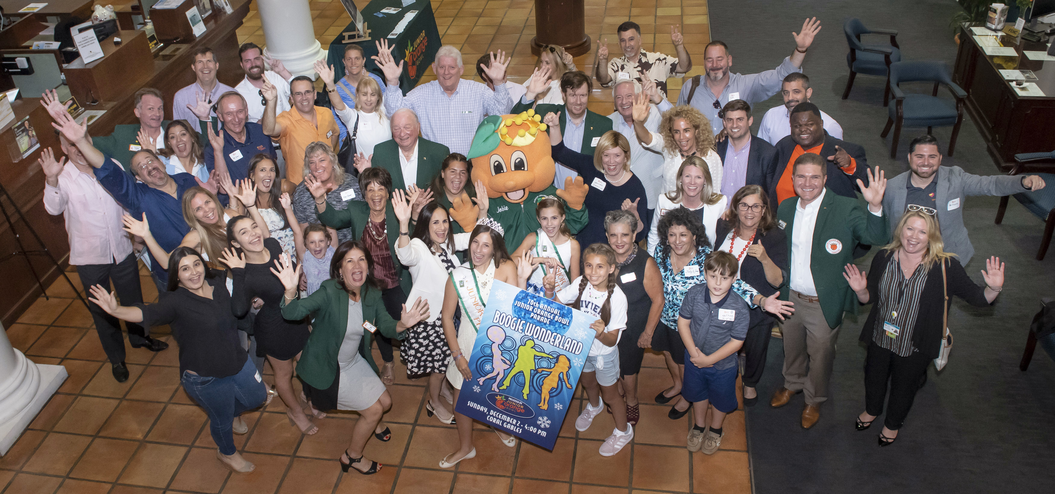 Junior Orange Bowl Unveils 70th Annual Parade Theme - Boogie Wonderland