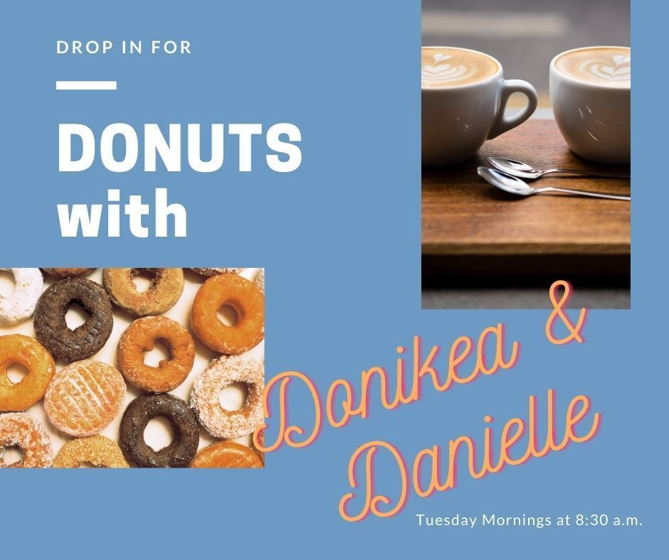 Donuts with Donikea & Danielle