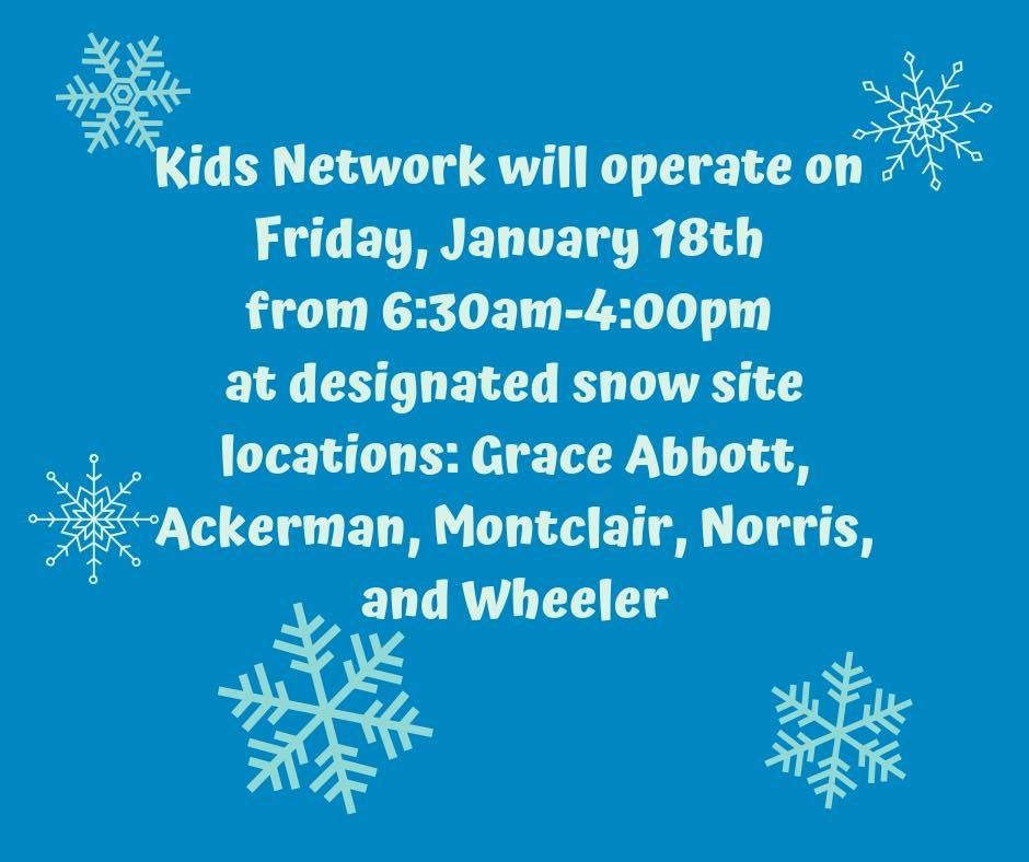 Millard Public Schools are closed Friday, January 18th.