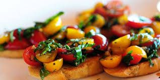Recipe of the Month: Fresh Tomato Bruchetta