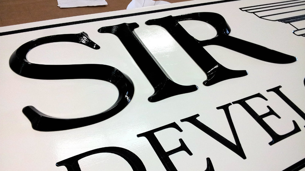 SIR Development 3D Letters