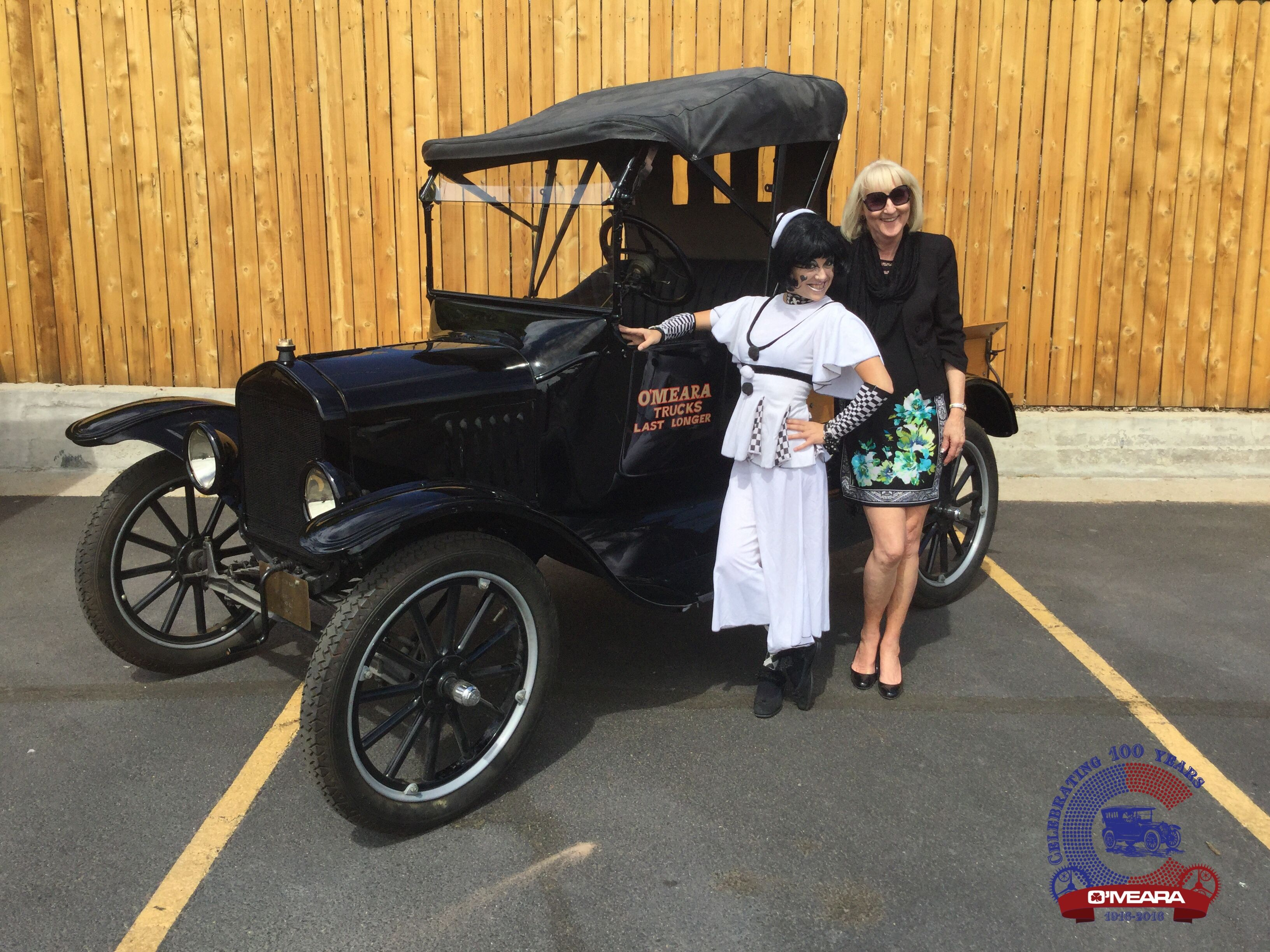 Thornton Goodwill provides vintage clothing for O'Mera Ford's 100th Anniversary celebration