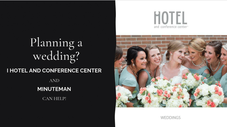 We've recently completed printing of a new iHotel and Conference Center wedding services brochure. The brochure is a compilation of beautiful wedding images, and iHotel and Conference Center services and facilities.