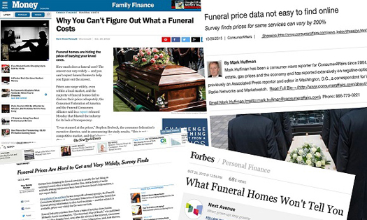 Funeral Homes Charge Wide Range of Prices and Most Fail to Disclose Prices Adequately