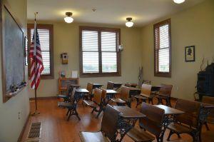 Historical classroom in the Jasper Educational Center
