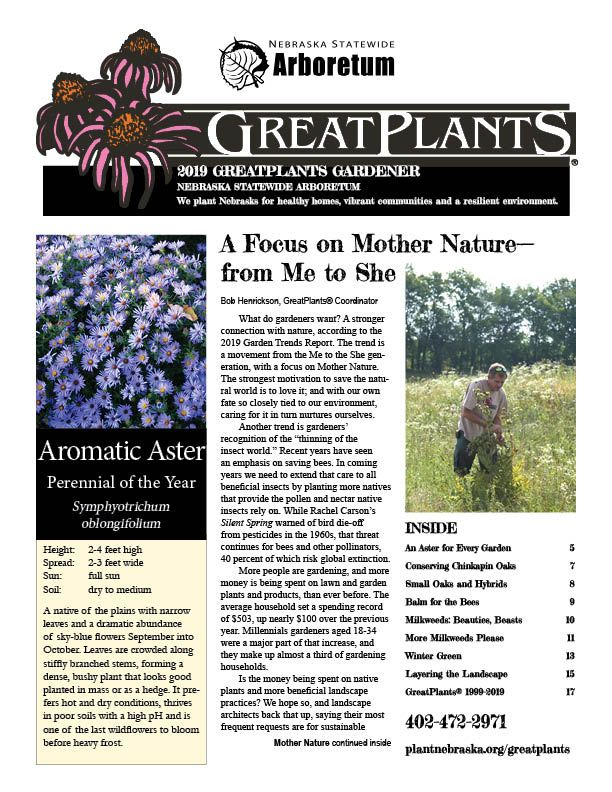 2019 GreatPlants Magazine, 2020 pub coming in January