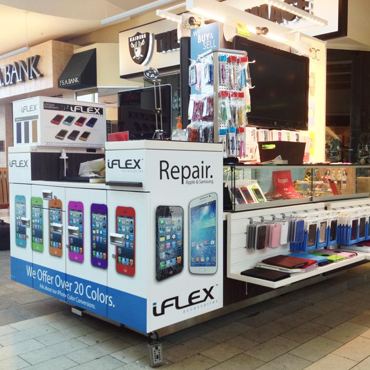 iFlex Kiosk Wrap