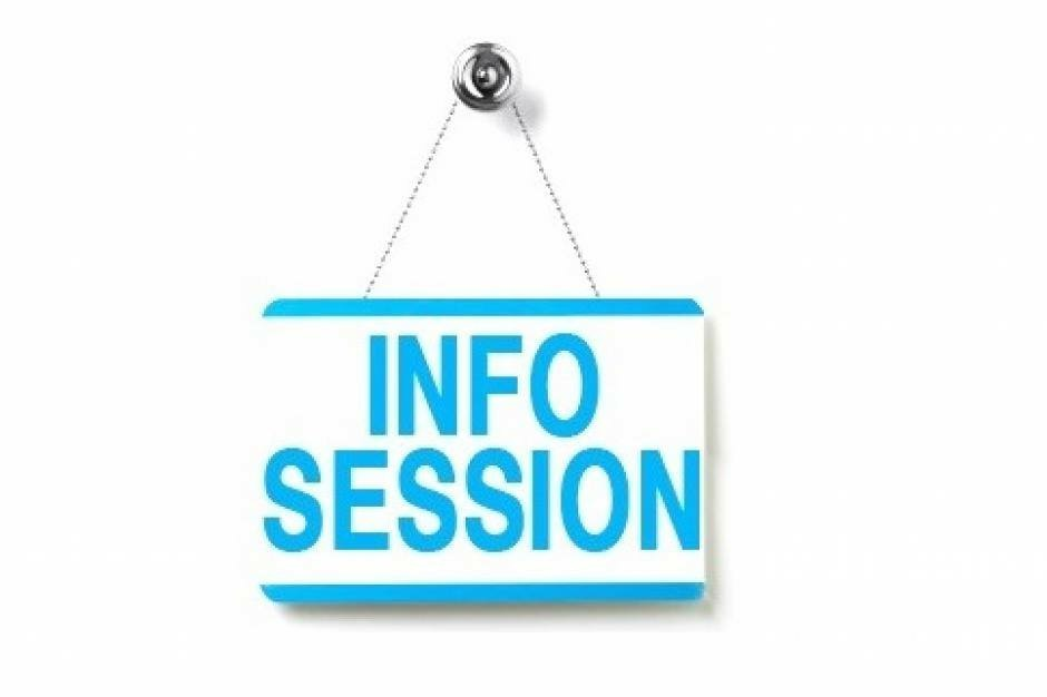 Information Session Dates
