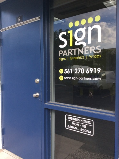 Window Signs: Window Decals & Lettering to make a great first impression – Boca Raton, FL
