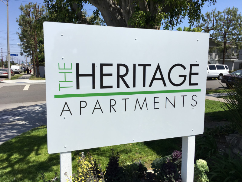 Anti-Graffiti Apartment Complex Signs Anaheim CA
