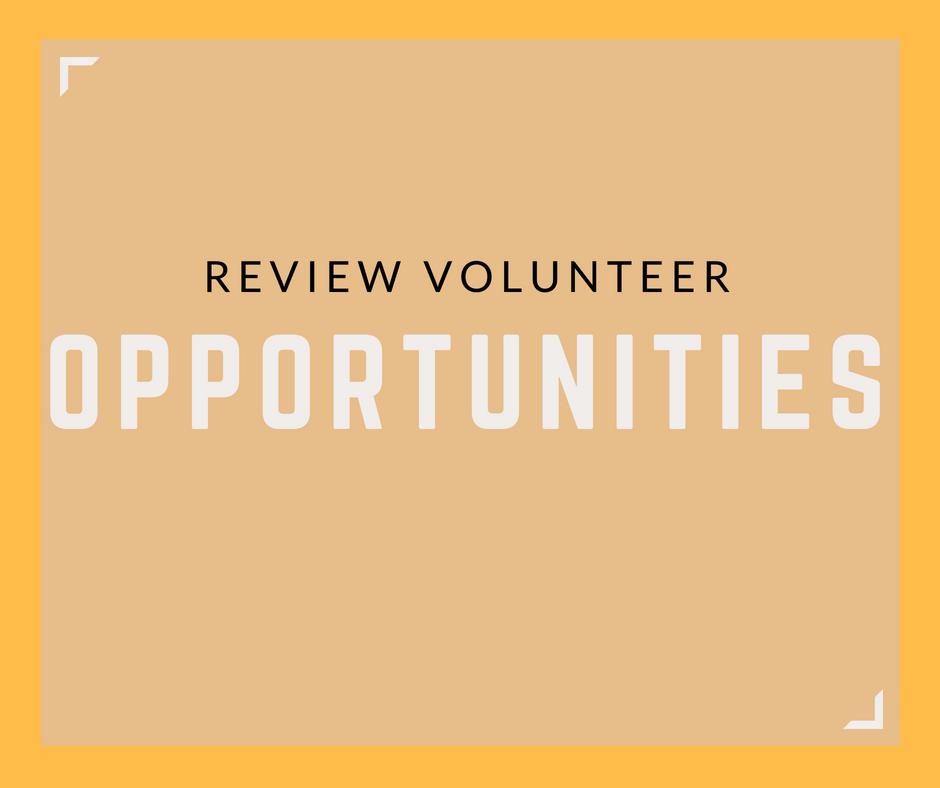 View Volunteer Opportunities