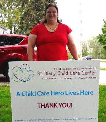 St. Mary Child Care Center Operates Disaster Relief Child Care Center