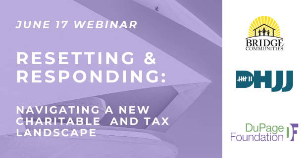 Webinar Yields Expert Advice on New Charitable and Tax Landscape