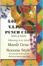 Mardi Gras Nocona Style!