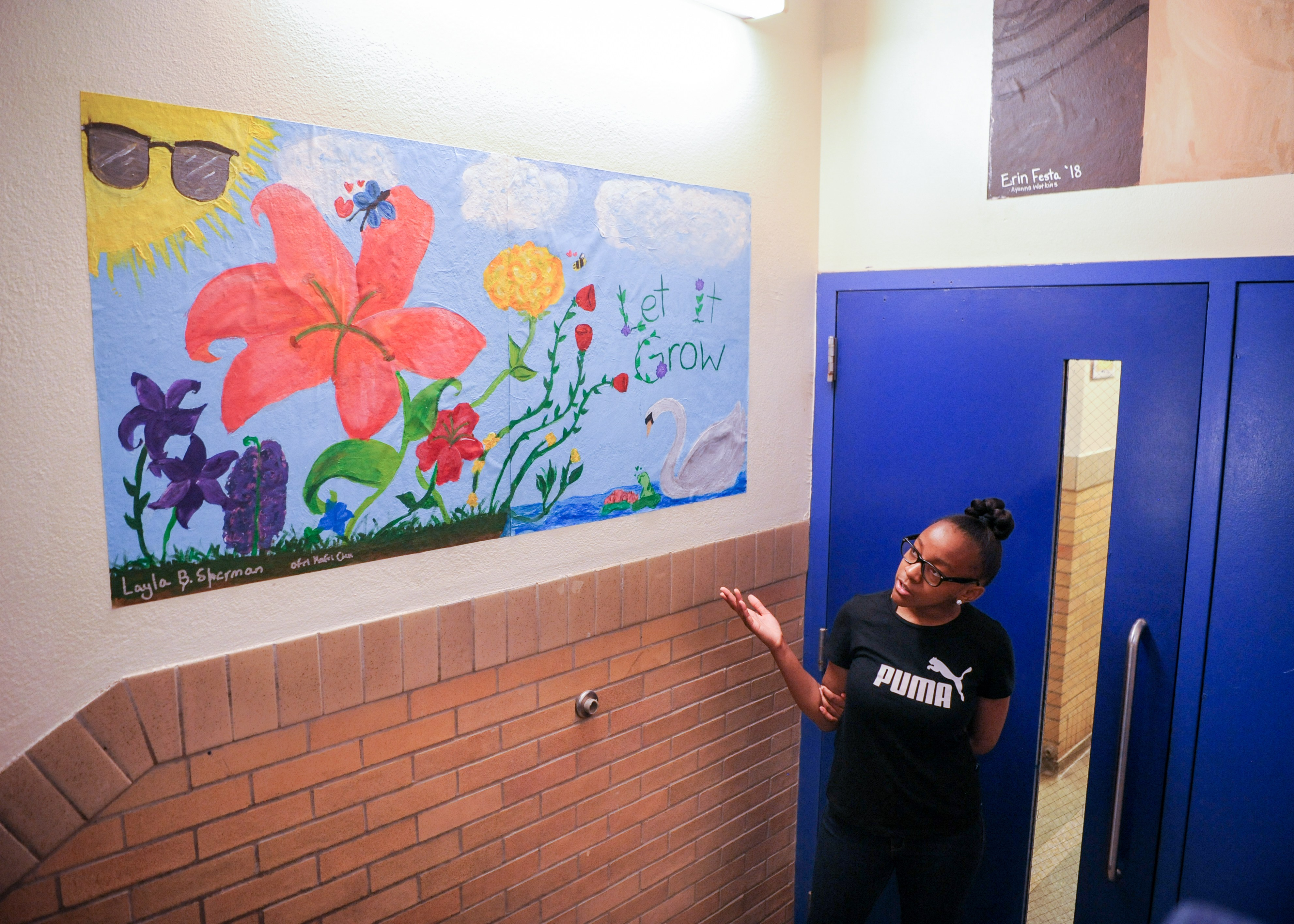 MURALS MAKE MIDDLE SCHOOL A HAPPIER PLACE AT BUZZ ALDRIN