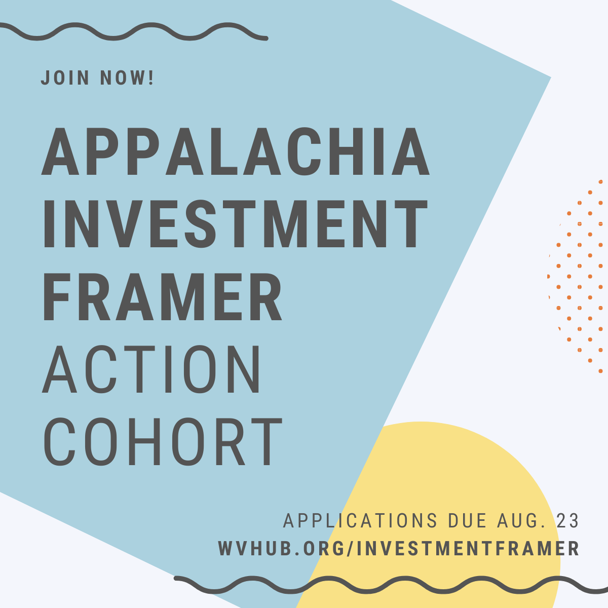 New Leadership Development Opportunity Will Increase Capacity for Investment into Appalachian Communities