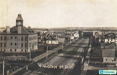 Old Williston Main Street