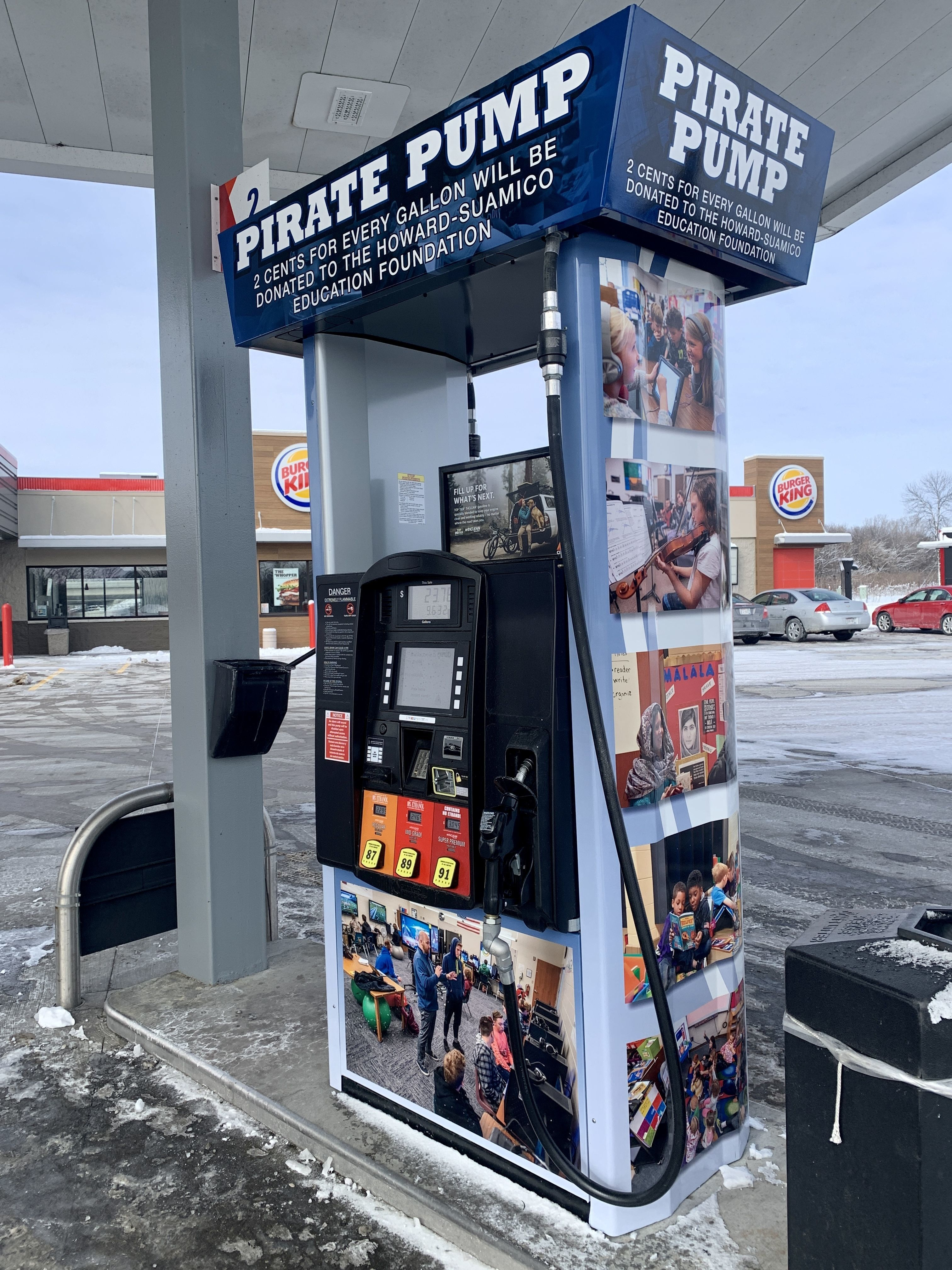 Fuel Up to Give Back at the Pirate Pump