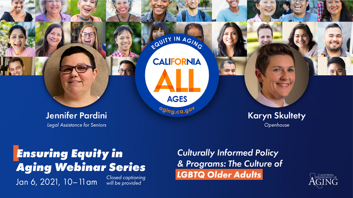 Culturally Informed Policy and Programs: The Culture of LGBTQ Older Adults