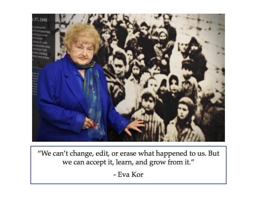 Eva Kor Postcard (USA Shipping)