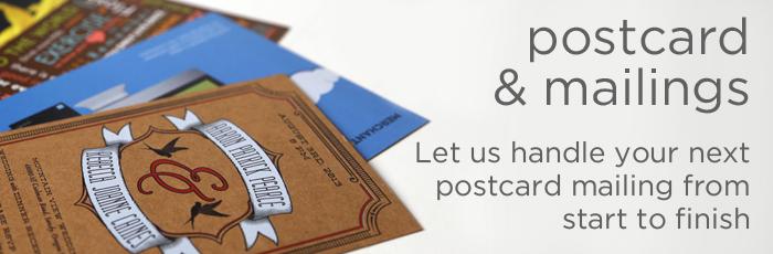 Postcards & Mailing Banner