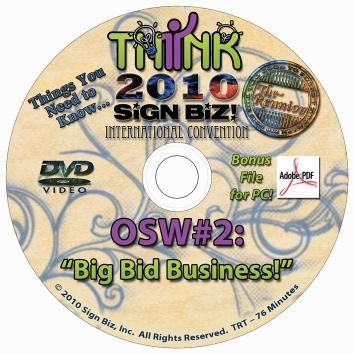 2010 OSW: Big Bid Business!