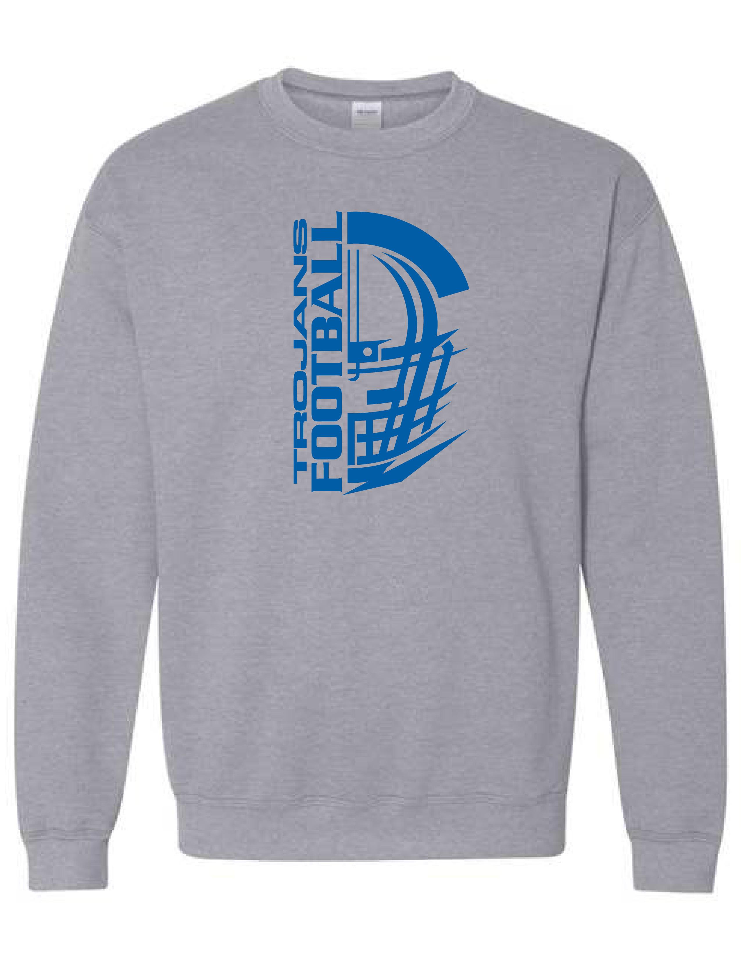 Crew Neck Sweatshirt  (HELMET) (Youth sizes available)