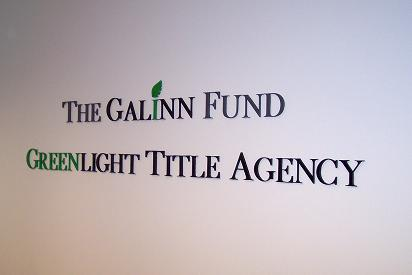 Reception Area Wall Lettering