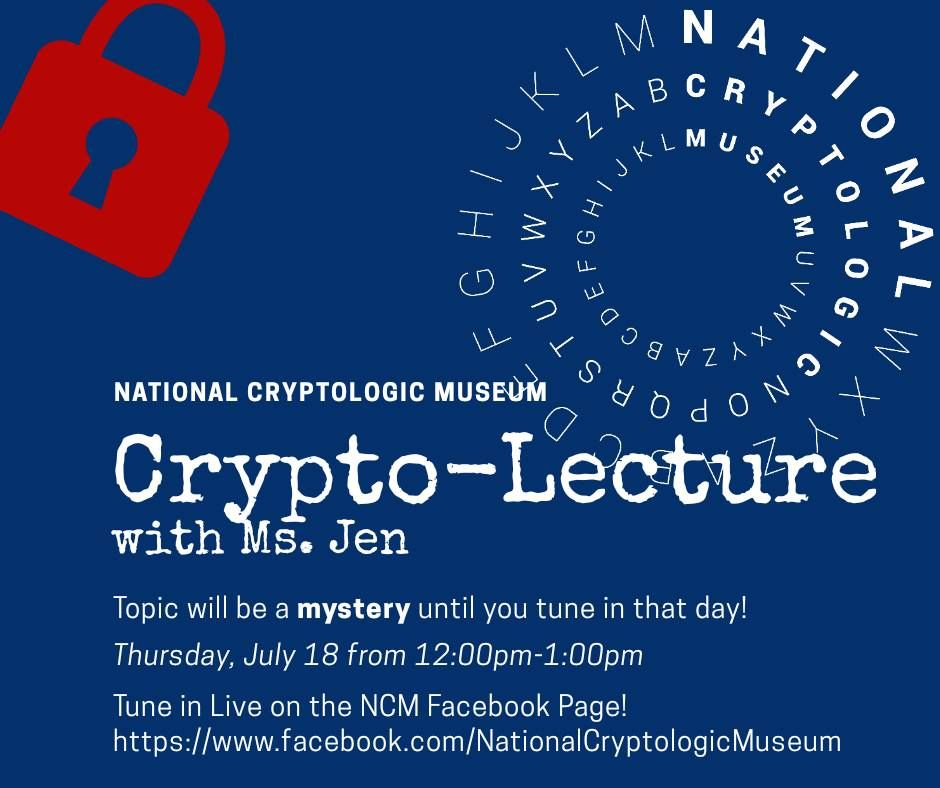 NCM Crypto-Lecture (Mystery Topic)