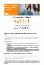 1.18.17 - Protect the Lifeline: Tell Us Your Affordable Care Act Story (Open)