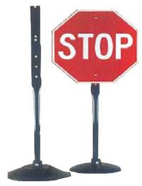 Portable Traffic Stand (Sign Not Included)-32 Lbs.