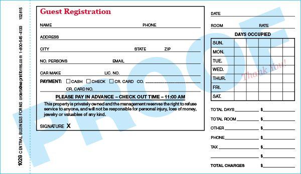 Standard 1028 Form