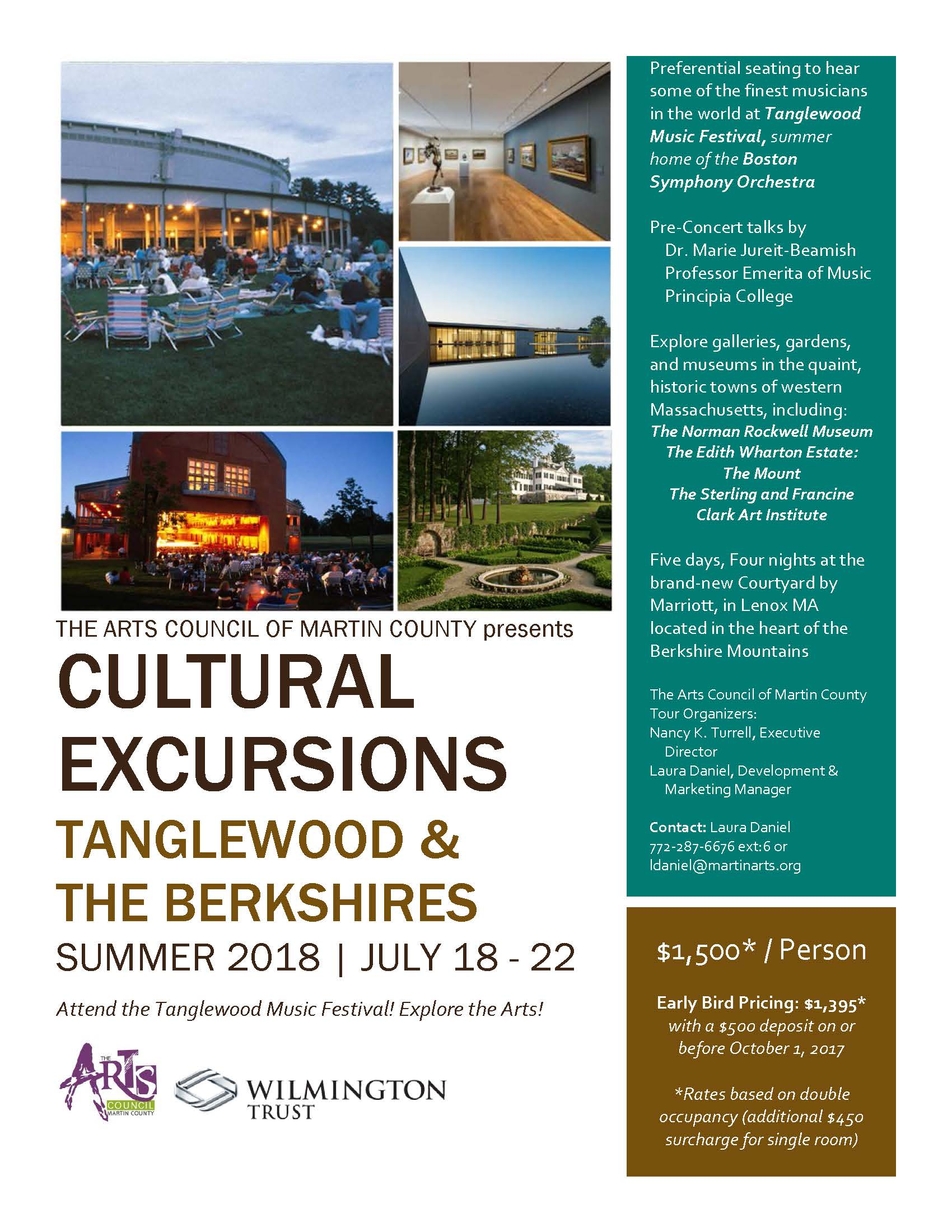 Cultural Excursions: Tanglewood & The Berkshires