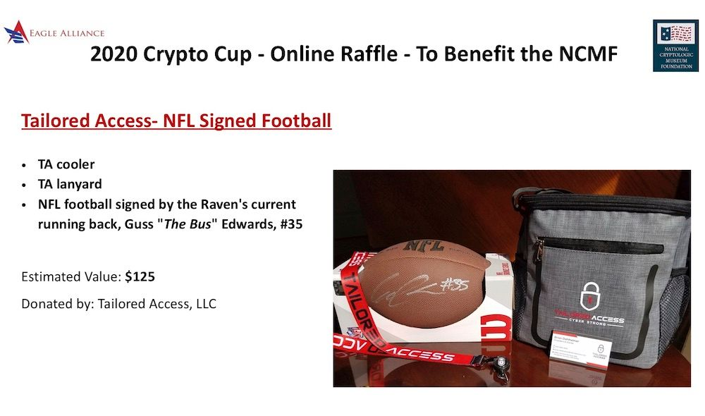 Tailored Access NFL Signed Football