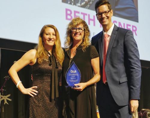 Beth Misner Awarded for Philanthropic Work for Children