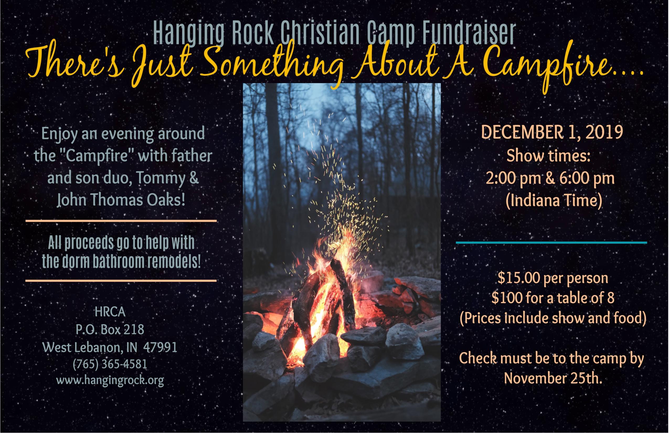 Fundraiser Banquet - December 1, 2019