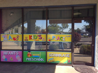 Preschool Brands With Window Graphics Vehicle Magnetsla