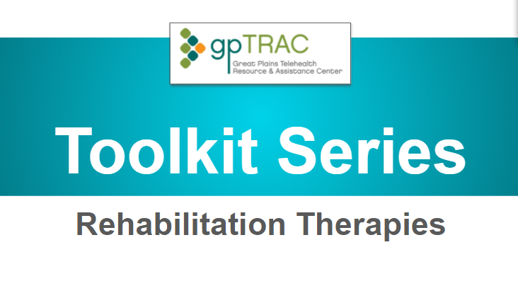 Tele-Rehabilitation Therapies