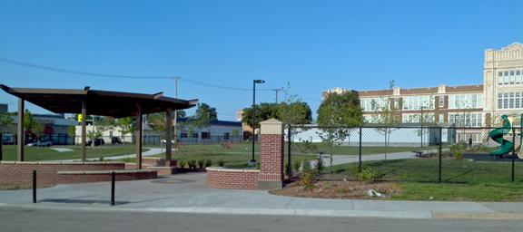 Elliott School Rotary Project Lincoln Nebraska