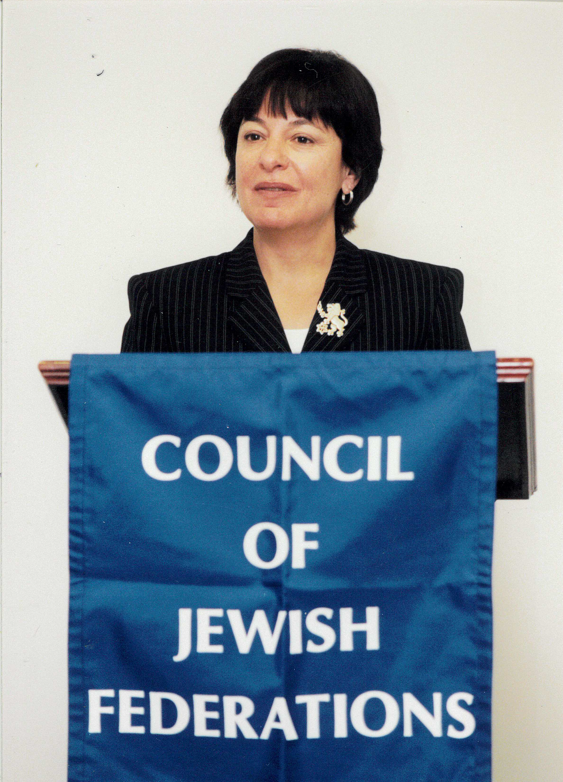 Michele representing the Council of Jewish Federations.