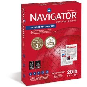 Navigator Multipurpose 20lb Specification Sheet