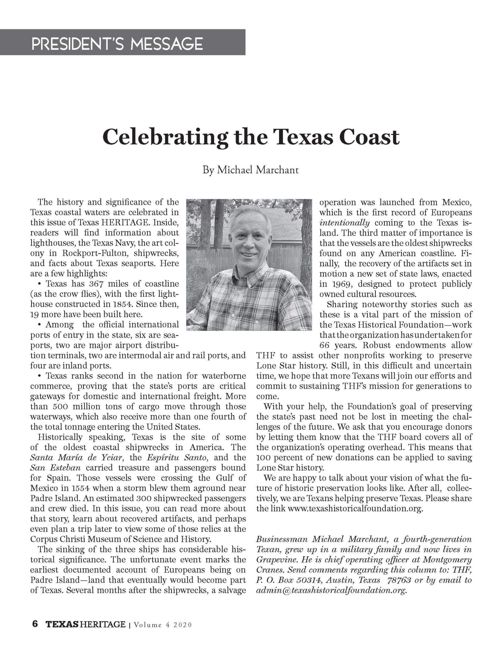 Celebrating the Texas Coast