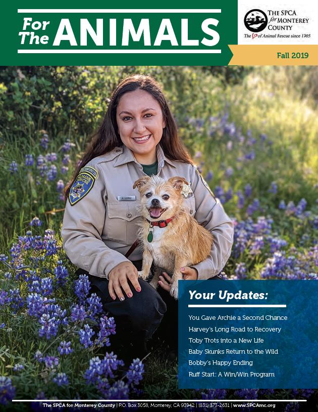 Fall 2019 SPCA Newsletter