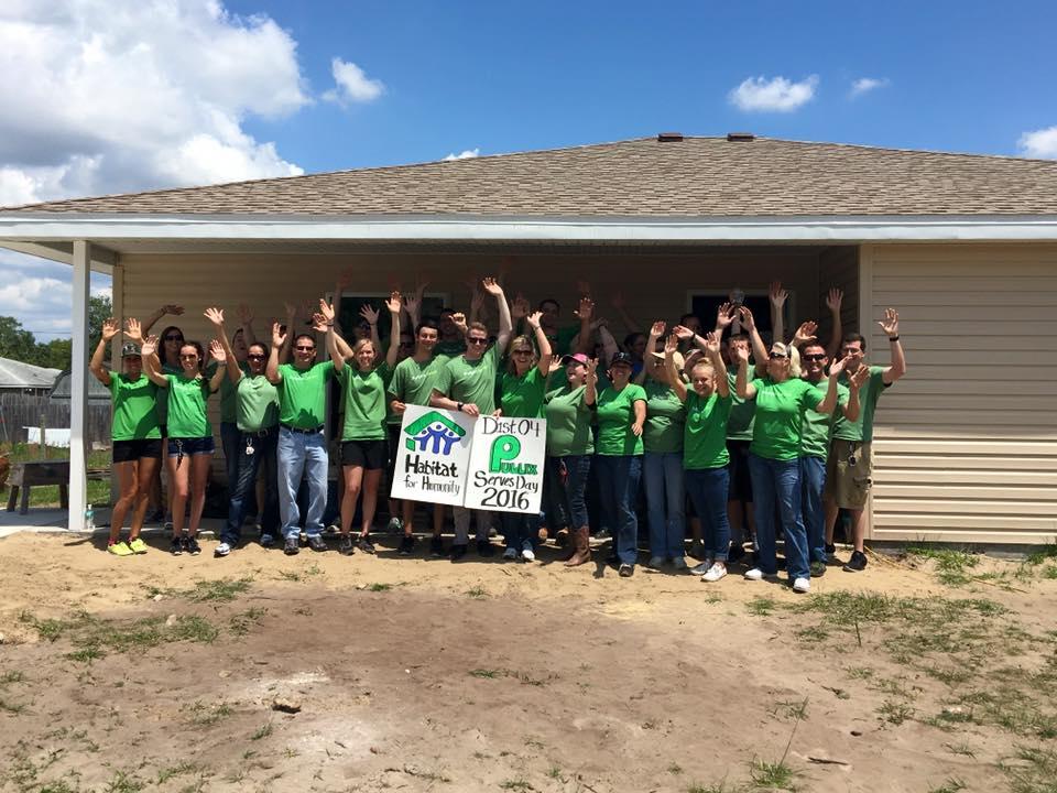 Publix Team Build Day 2016 - Thomas House