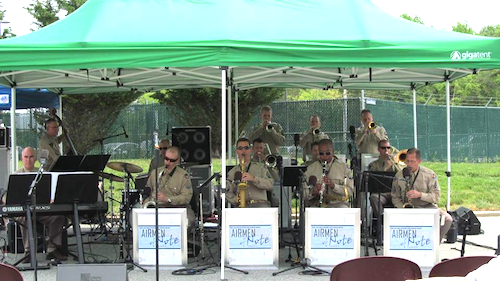 Airmen of Note - USAF jazz band at NCM