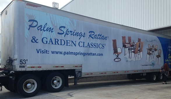 Semi Trailer Wrap 3
