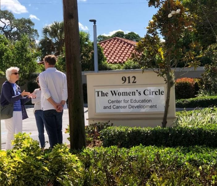 Grand Opening of the Expansion of The Women's Circle