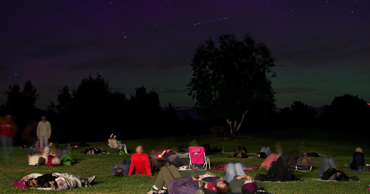 Stargazing at Spring Farm