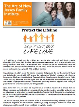 Overview of Protect the Lifeline Campaign - 1.13.2017